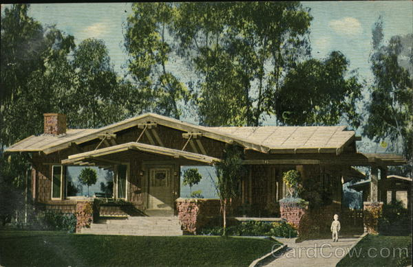 California Bungalow Los Angeles