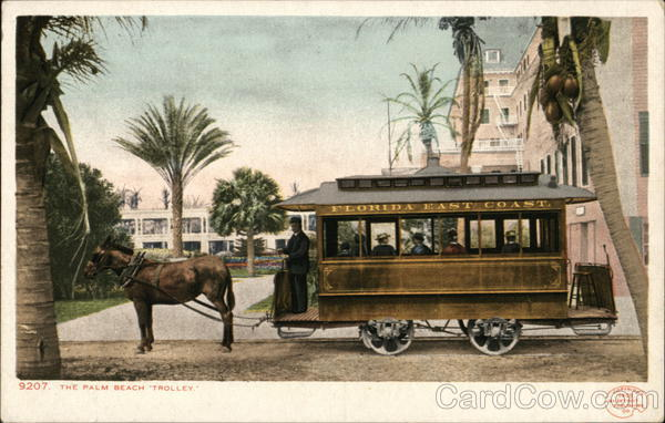 The Palm Beach Trolley Florida