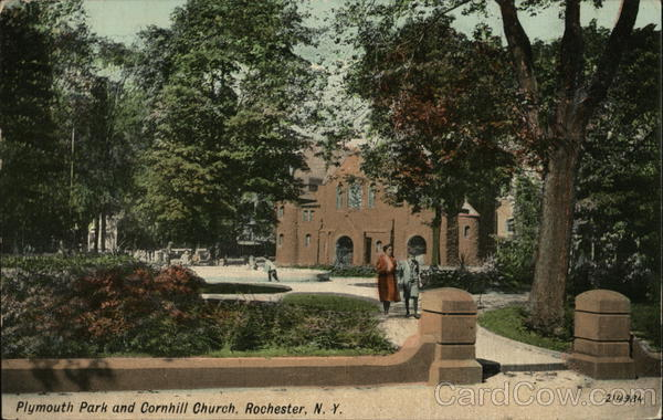 Plymouth Park and Cornhill Church Rochester New York