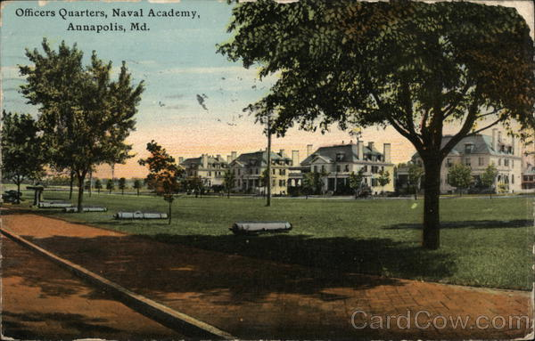 Officers Quarters at the Naval Academy Annapolis Maryland