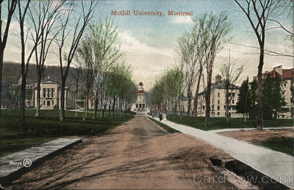 McGill University Montreal Canada Quebec