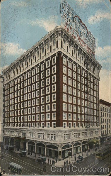 Hart Bros. New Rosslyn Hotel - Fifth and Main Los Angeles California