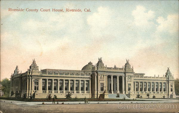 Riverside County Court House California