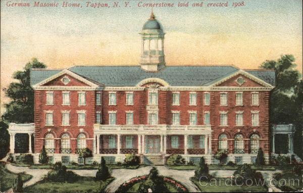 German Masonic Home Tappan New York