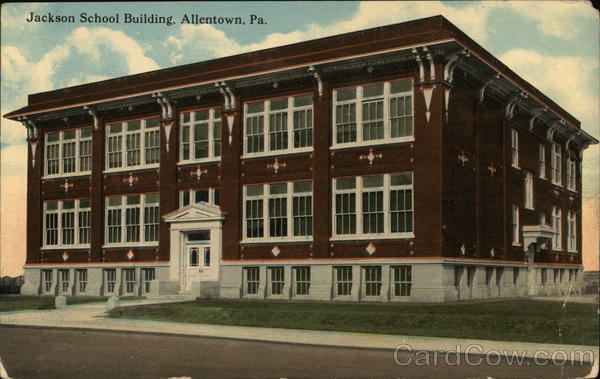 Jackson School Building Allentown Pennsylvania