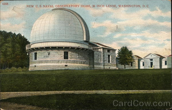 New U.S. Naval Observatory Dome, 36-inch Lense Washington District of Columbia