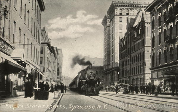 Empire State Express Syracuse New York