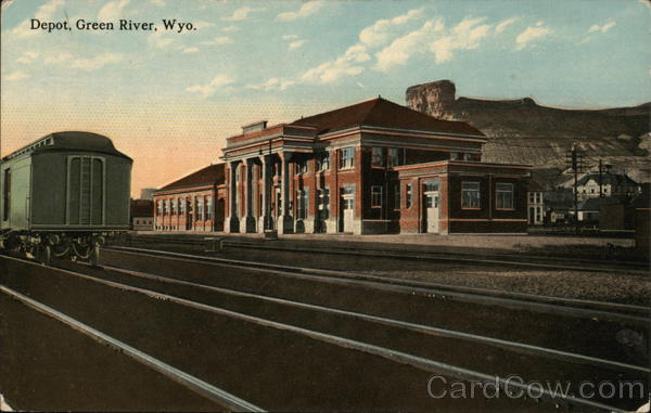 Southern Pacific Depot Green River Wyoming