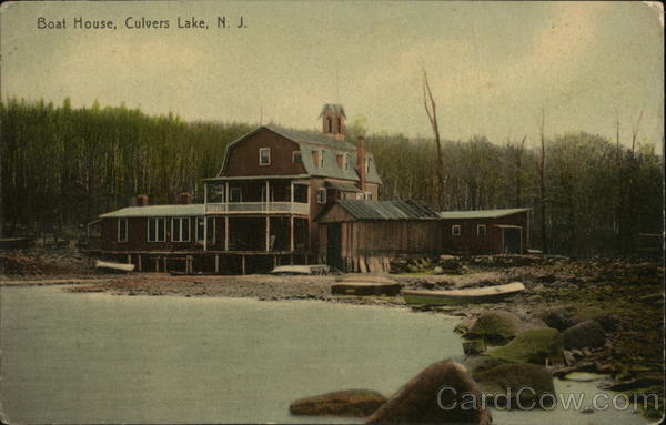 Boat House Culvers Lake New Jersey