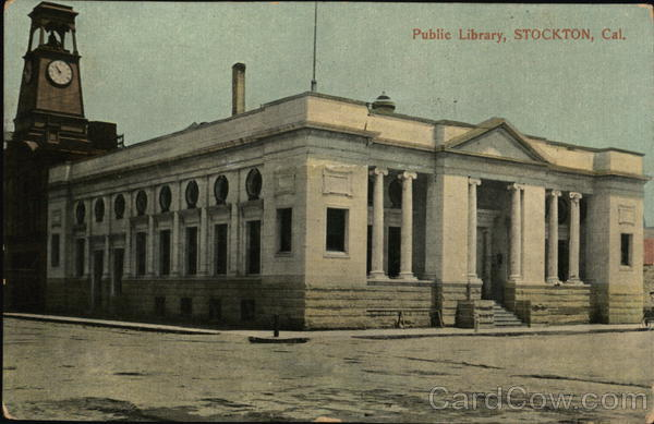 Public Library Stockton California