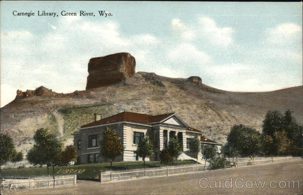 Carnegie Library Green River Wyoming