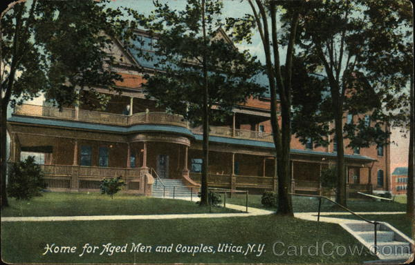 Home for Aged Men and Couples Utica New York