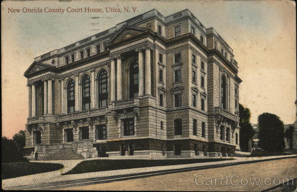 New Oneida County Court House Utica New York