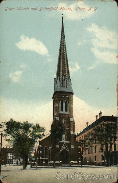 Grace Church and Butterfield House Utica New York