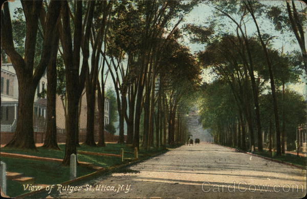 View of Rutger St. Utica New York
