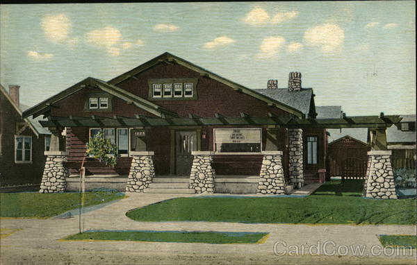 The Bungalow (Post Card) Los Angeles California