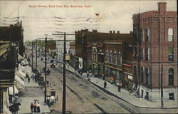 Court Street, East from Fifth Postcard