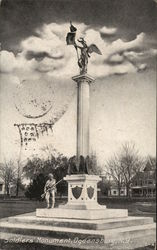 Soldiers' Monument Postcard