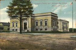Carnegie Library and Ashland Ave. School