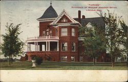 """Fairview,"" residence of William Jennings Bryan"