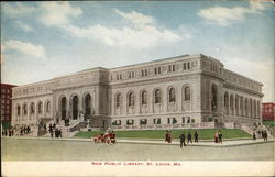 New Public Library Postcard