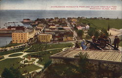 Overlooking Marquette Park and Village from Old Fort