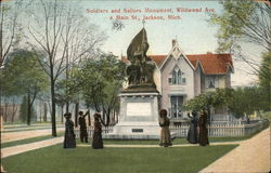 Soldiers and Sailors Monument, Wildwood and Main Streets