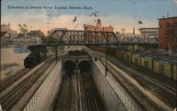 Entrance to Detroit River Tunnel