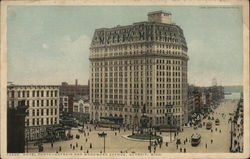 Hotel Pontchartrain and Woodward Avenue