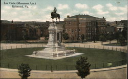 Lee Circle - Monument Avenue
