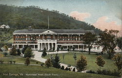 South Front View of the Homestead Hotel
