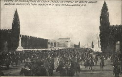 Court of Honor, White House - Inauguration March 4th 1913
