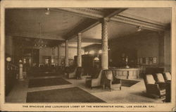 The Spacious and Luxurious Lobby of the Westminster Hotel