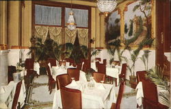Corner in Dining Room, New Hotel Monteleone
