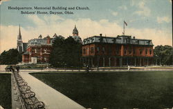 Soldiers Home - Headquarters, Memorial Building and Church