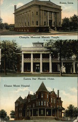 Three Photos of Boone, Iowa