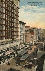 Main Street from Fifth Showing the Hotel Rosslyn