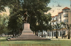 St. James Hotel and McKinley Monument