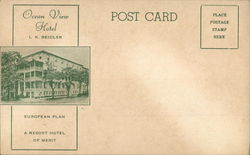 Ocean View Hotel, L. K. Beidler - European Plan - A Resort Hotel of Merit