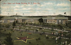 New Dairy and Grange Building, N. Y. State Fair