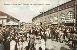Entrance to Grand Stand, Canadian National Exhibition