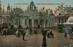 Louis XV Pavilion, Franco-British Exhibition, London, 1908