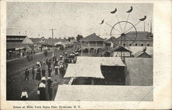 Scene at New York State Fair