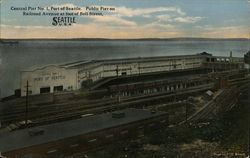 Central Pier No. 1, Port of Seattle