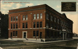 Peace Building, Portsmouth Navy Yard Postcard