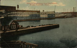 Docks at Charlestown, from Charlestown Bridge