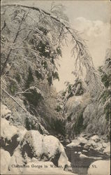 Clarendon Gorge in Winter