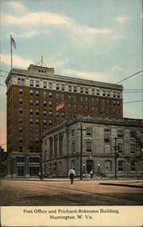 Post Office and Prichard-Robinson Building Postcard