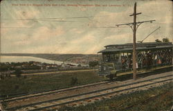 View from the Niagara Falls Bell Line, showing Queenston, Ont. and Lewiston, N.Y.
