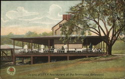 On Line of L. V. R. R. Restaurant at the Farmhouse, Bellewood